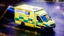The elderly woman suffered the injury at a shopping area in Craigavon (stock image)