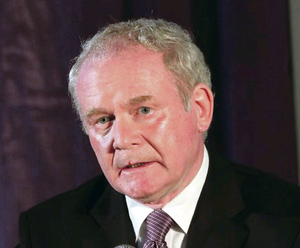 Martin McGuinness criticised the DUP over a lack of progress at Stormont