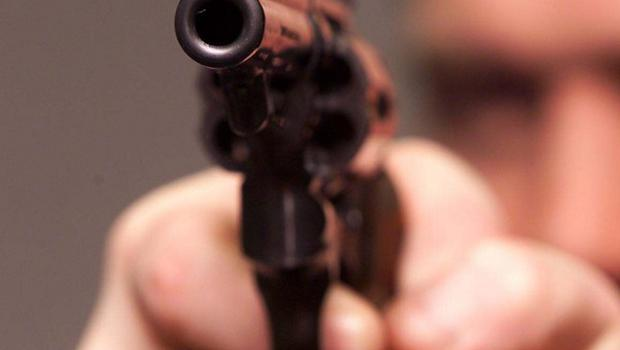 A 25-year-old man has been arrested on suspicion of possessing a gun