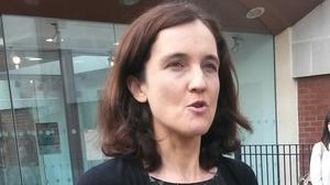 Theresa Villiers says she agrees with the Chief Constable's assessment of the IRA