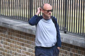 Mr Swann described Dominic Cummings' actions as 'ill-judged' (Victoria Jones/PA)