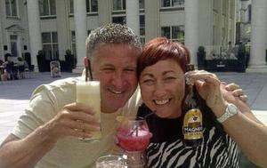 Taxi driver Brian Braiden enjoying time with his wife, Carol