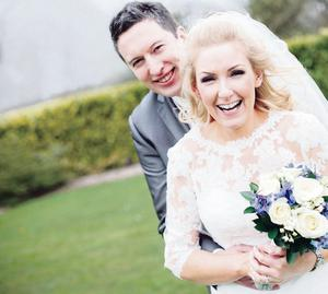 BT NEWS - REGISTRAR WEDDING    Louise and Ryan Moore from Armagh (Maiden name McCauley    Image supplied by Amanda Poole (06 June 2013)
