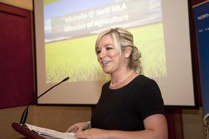 Michelle O'Neill is Sinn Fein Minister for Agriculture and Rural Development