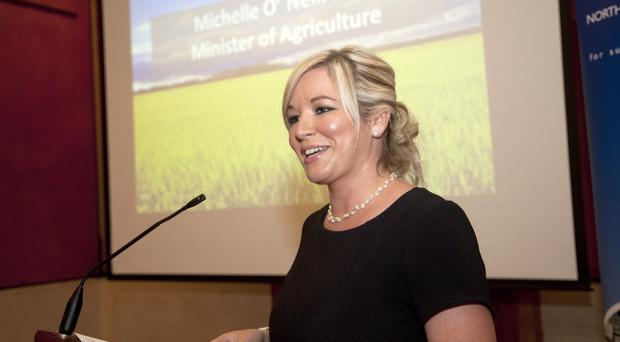 Michelle O'Neill, Minister for Agriculture and Rural Development