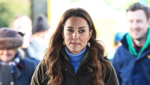 The Duchess of Cambridge during a visit to the Ark Open Farm in Newtownards, near Belfast (PA)