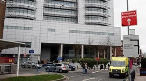 Oisin McGrath was treated in Royal Victoria Hospital, Belfast
