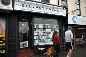 Belfast Books where the DUP faces a ban from its proposed cafe