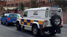 Land Rover owner Mark Gray has enjoyed seeing the shocked reactions as he drives around Dublin