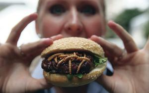 Ketchup with that? A mealworm burge
