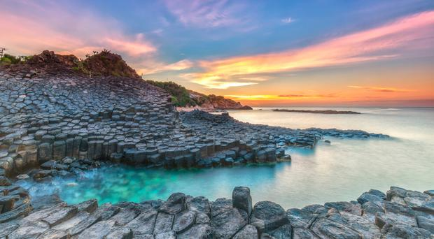 The Giant's Causeway was the UK's third most booked destination in TripAdvisor's research