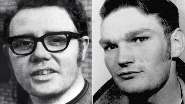 Soldier F was charged with the murder of William McKinney (left) and James Wray on Bloody Sunday