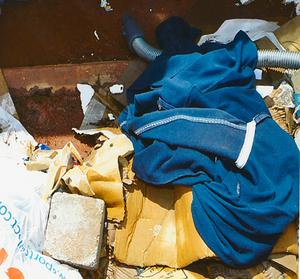 A hooded top found in a skip close to the scene of a pipe bomb attack containing Connor's DNA