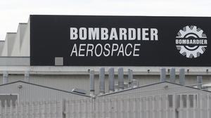 The Bombardier Aerospace plant in Belfast (Niall Carson/PA)