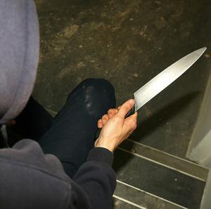 A man is in hospital following a stabbing