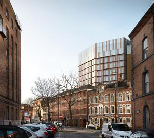 Historic: Artist's impression of Bedford Yard in the city's Bedford Street