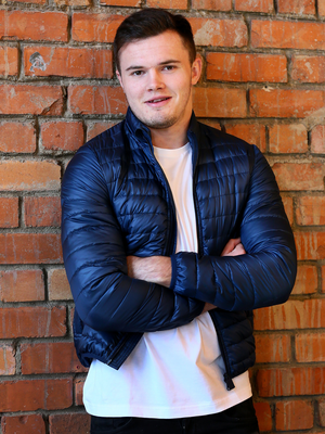 Ulster and Ireland rugby star Jacob Stockdale