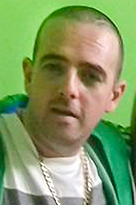 Victim Eddie Devine, who is in a stable condition in the Ulster Hospital