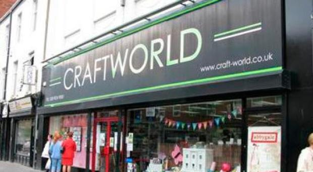 The Craftworld shop which has announced its closure