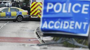 Two teenagers were killed in a road crash in Co Armagh while on the way to college