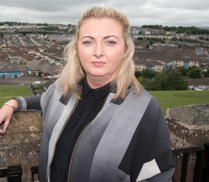 Concerned: Karen Mullan has said hot meals at schools must be a priority