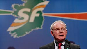 Martin McGuinness welcomed the loyalists' decision to attend