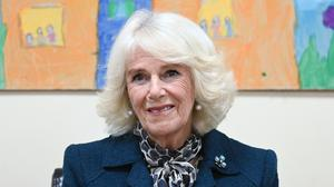 The Duchess of Cornwall during a visit to the Belfast and Lisburn Women's Aid which supports those affected by domestic violence across Belfast and Lisburn (Tim Rooke/PA)
