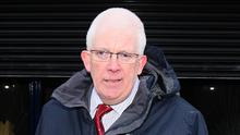 Stewart Dickson spoke after a shotgun cartridge was found at an Alliance Party constituency office in County Antrim