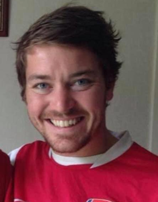 Always smiling: Lee Cooke believed in living life to the full, said his mother Carmel