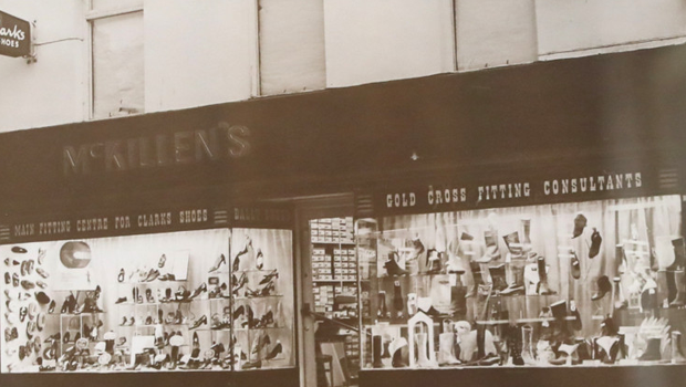 An old family picture of the store