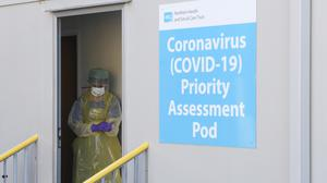 Two more patients have been confirmed to have Covid-19 in Northern Ireland (PA)