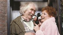 Role: Eileen Pollock and Ronald Forfar in a scene from Bread in 1990