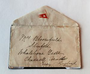 The envelope of the last letter