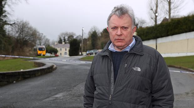 MLA for Mid-Ulster, Patsy McGlone, at The Greenvale Hotel in Cookstown (Liam McBurney/PA)