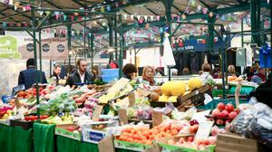 St George's Market reopened for business last month