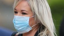 Michelle O'Neill said local lockdowns in Northern Ireland are inevitable as coronavirus cases increase (PA)