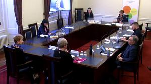 Representatives of care workers in Northern Ireland gave evidence to Stormont's Health Committee that workers feel under-equipped for coronavirus (NI Assembly/PA)