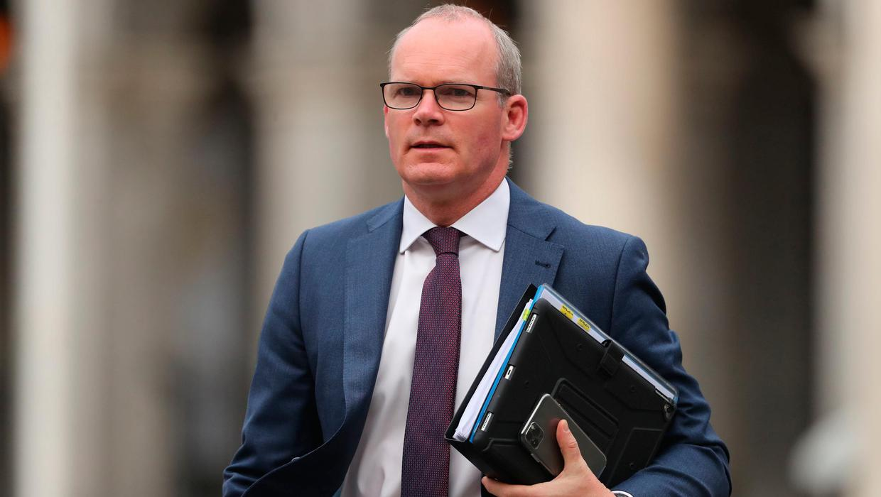 Simon Coveney set to be sent to Northern Ireland centenary church service in Armagh