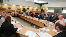 Ministers met with health chiefs at Stormont
