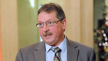 Sammy Wilson questioned the Prime Minister about a proposed border control post on Wednesday