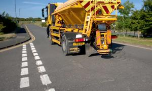 Gritters have been deployed to protect melting road surfaces (Cumbria County Council/PA)