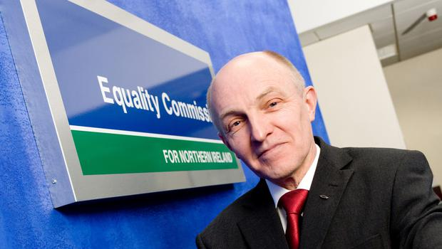 Equality Commission Chief Commissioner Dr Michael Wardlow says that nationality and ethnic origin are set to be added to fair employment monitoring. (Equality Commission/PA)
