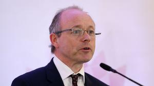 Director of Public Prosecutions for Northern Ireland Barra McGrory speaks during a press conference