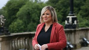 Assembly members will debate whether to urge Stormont deputy first minister Michelle O'Neill and finance minister Conor Murphy to apologise later (Liam McBurney/PA)