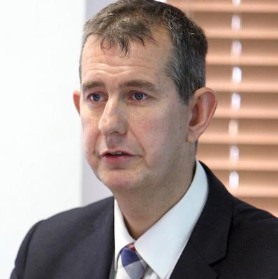 Health minister Edwin Poots was warned against closing residential care homes more than a year ago, it has been claimed