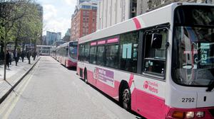 """Translink is introducing a """"no change policy"""" when buying tickets on board buses and trains"""