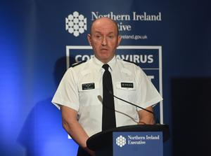 Assistant Chief Constable Alan Todd, who is leading the PSNI's effort against Covid-19.