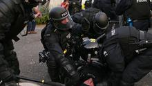 More than 70 police officers have been injured during four nights of unrest in Belfast