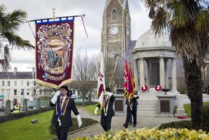 The Apprentice Boys said they would lend support to any legal and peaceful action necessary to overturn the protocol's provisions (Liam McBurney/PA)