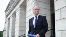Stormont Education Minister Peter Weir has indicated his preference for schools to reopen as planned on Monday November 2. (Press Eye/PA)